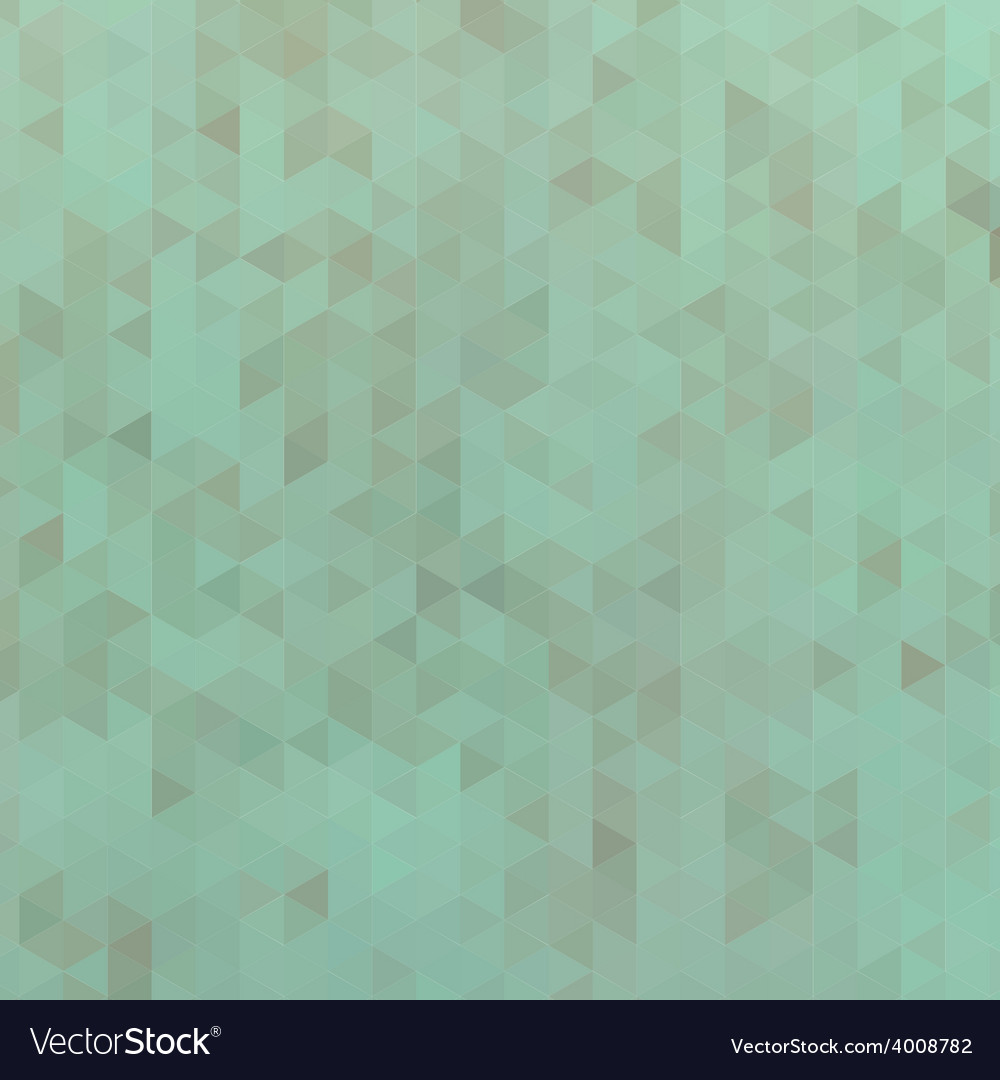 Green triangle abstract background vector | Price: 1 Credit (USD $1)
