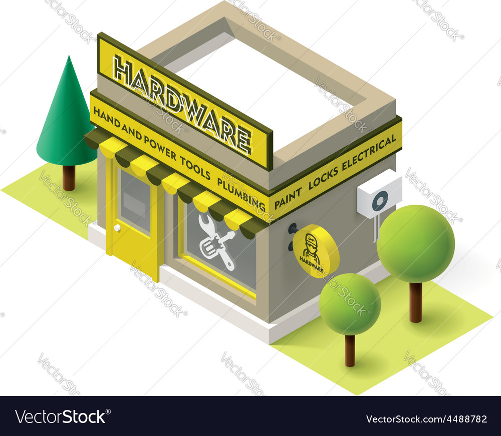 Hardware store vector | Price: 3 Credit (USD $3)