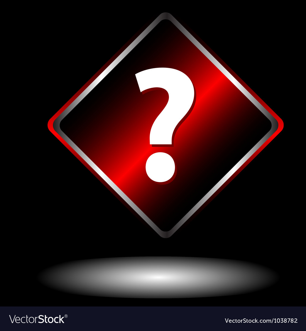 Question sign vector | Price: 1 Credit (USD $1)
