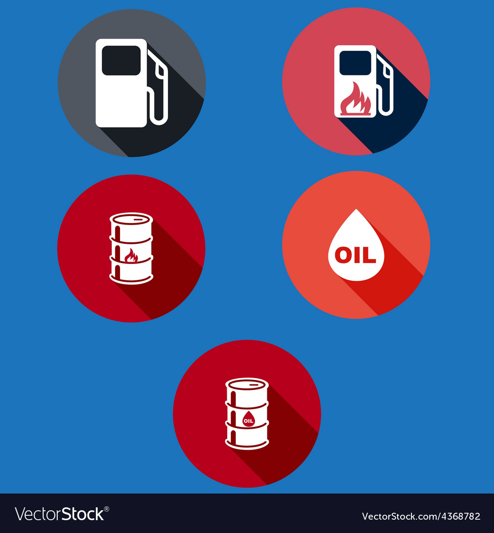 Set of information icons flat vector | Price: 1 Credit (USD $1)