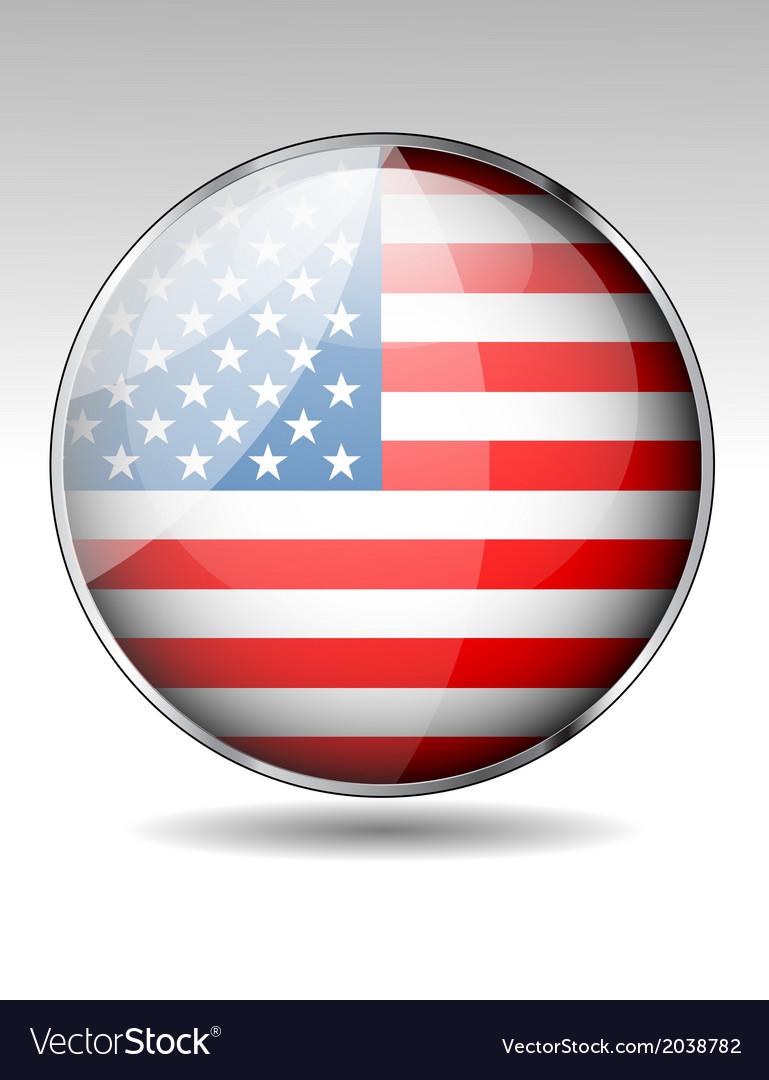 Usa icon vector   Price: 1 Credit (USD $1)