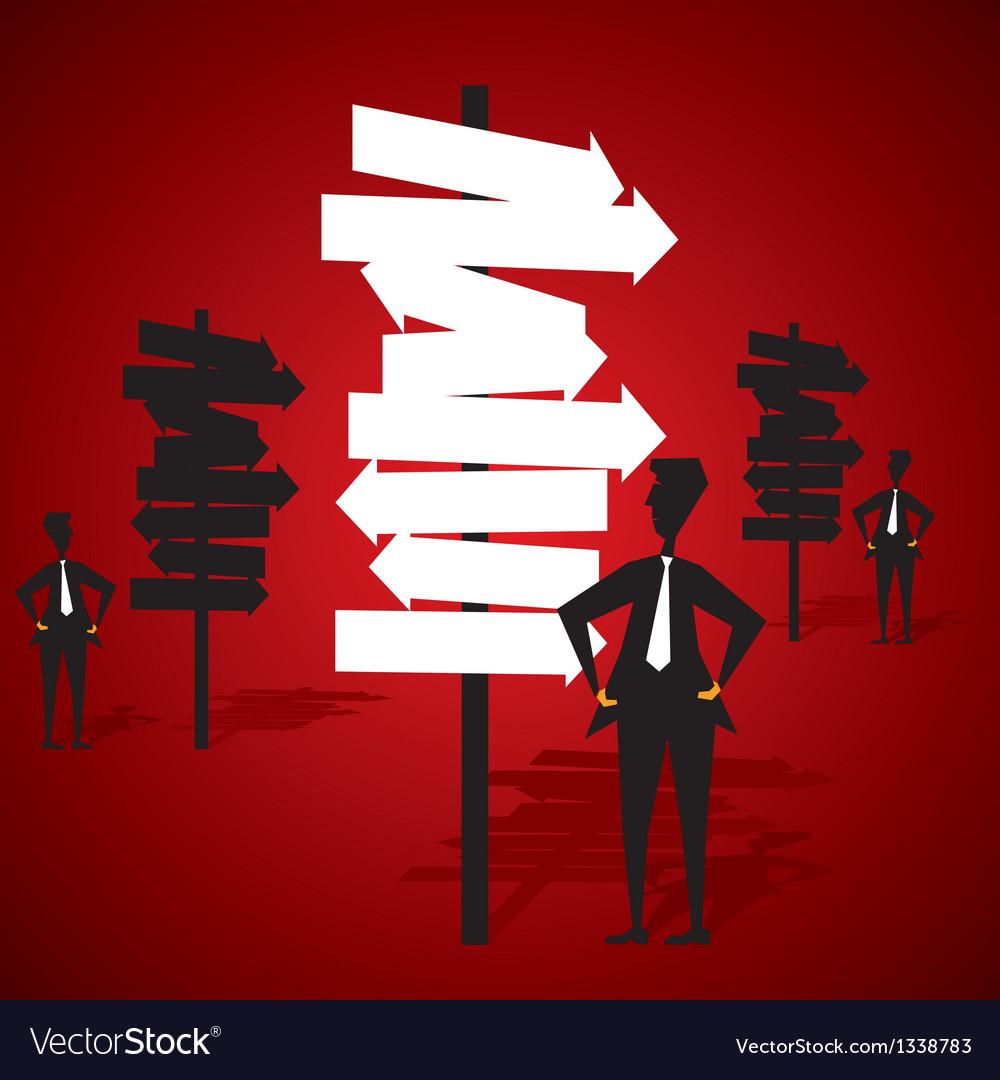 Businessman success concept vector | Price: 1 Credit (USD $1)