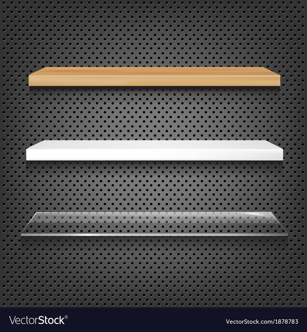 Different shelves vector | Price: 1 Credit (USD $1)
