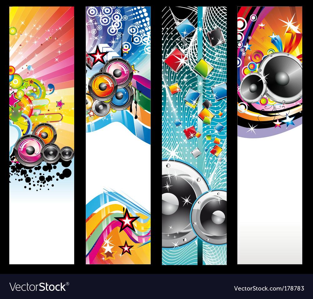 Discotheque dj flyers vector | Price: 3 Credit (USD $3)