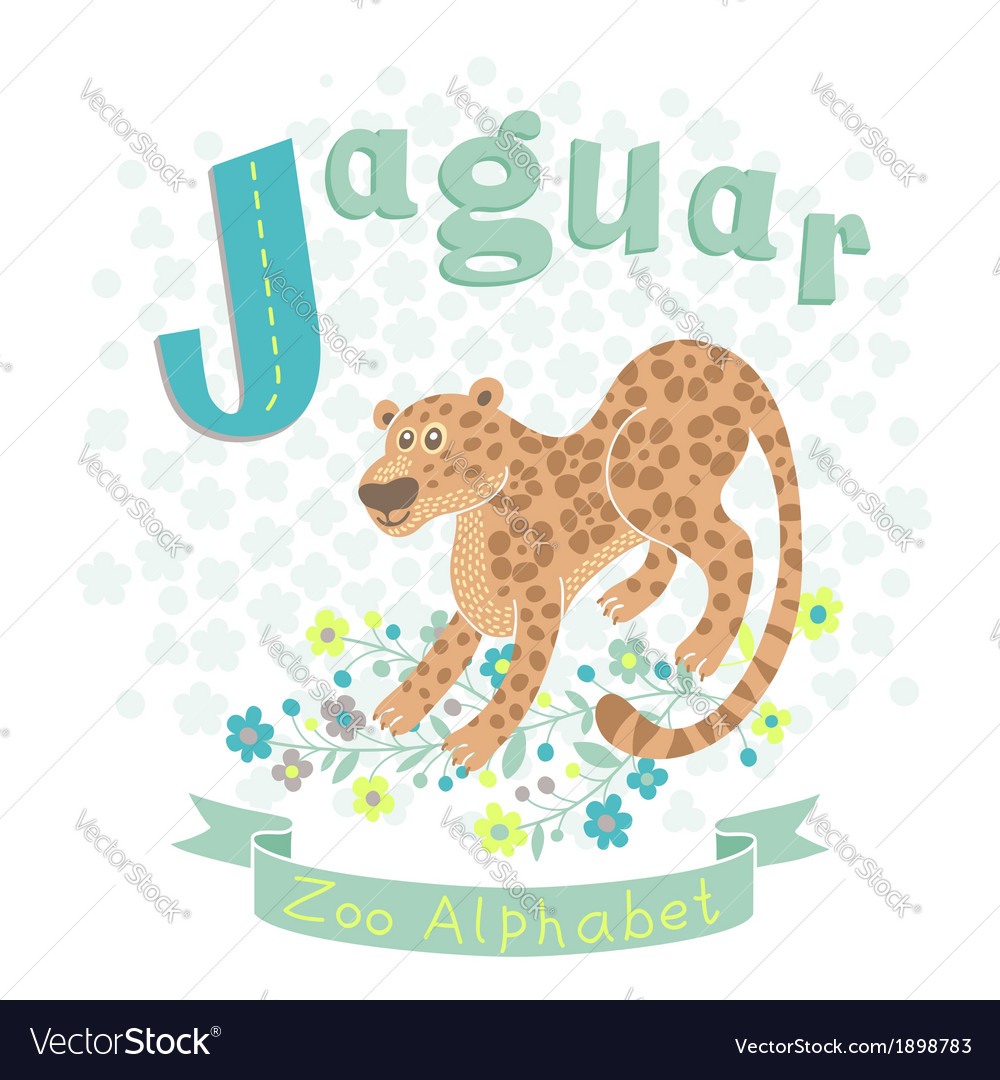 Letter j - jaguar vector | Price: 1 Credit (USD $1)