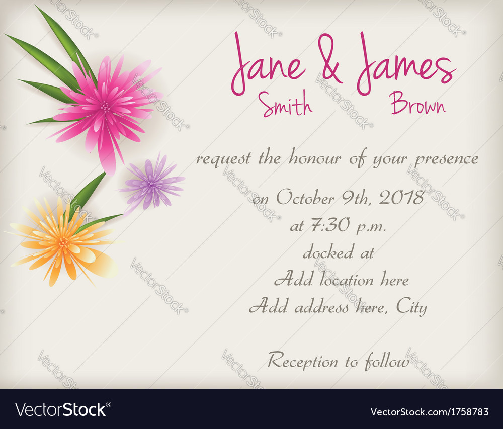 Wedding abstract background vector | Price: 1 Credit (USD $1)