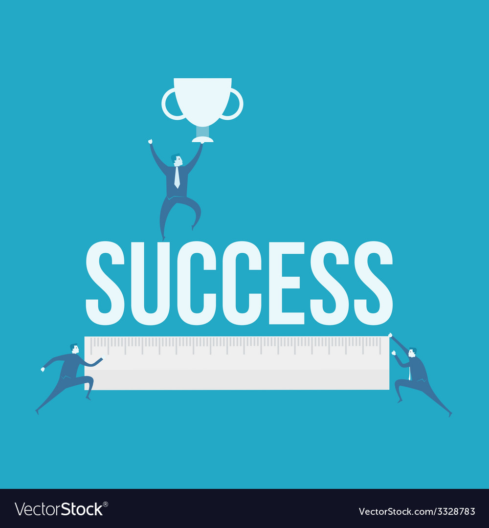 Word of success vector | Price: 1 Credit (USD $1)