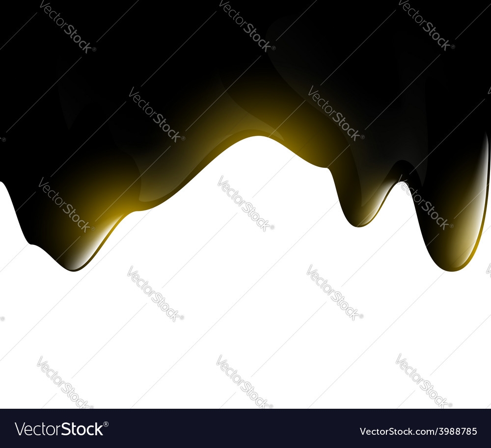 Black oil droplets vector | Price: 1 Credit (USD $1)