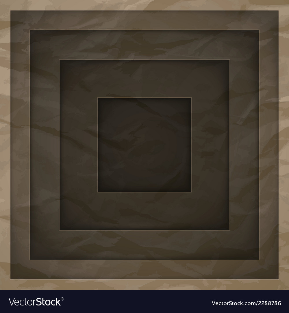 Abstract background with brown paper layers vector | Price: 1 Credit (USD $1)