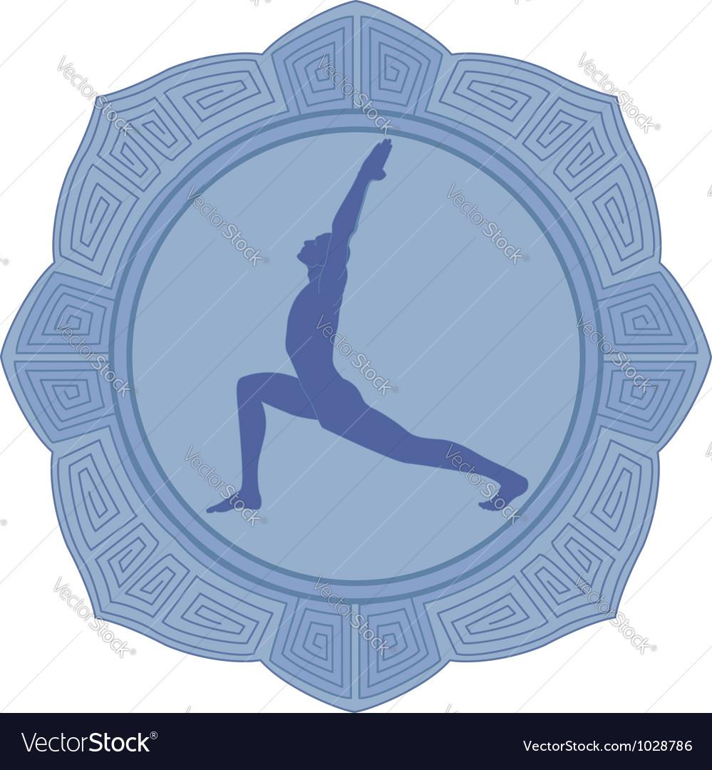 Man yoga vector | Price: 1 Credit (USD $1)