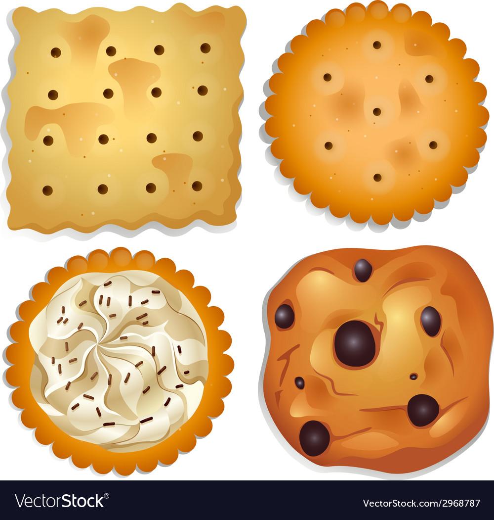 Delectable cookies vector | Price: 1 Credit (USD $1)