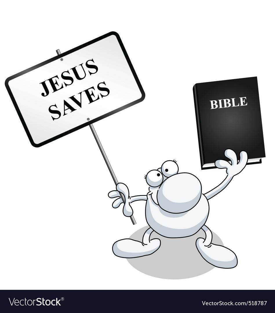 Man sign bible vector   Price: 1 Credit (USD $1)