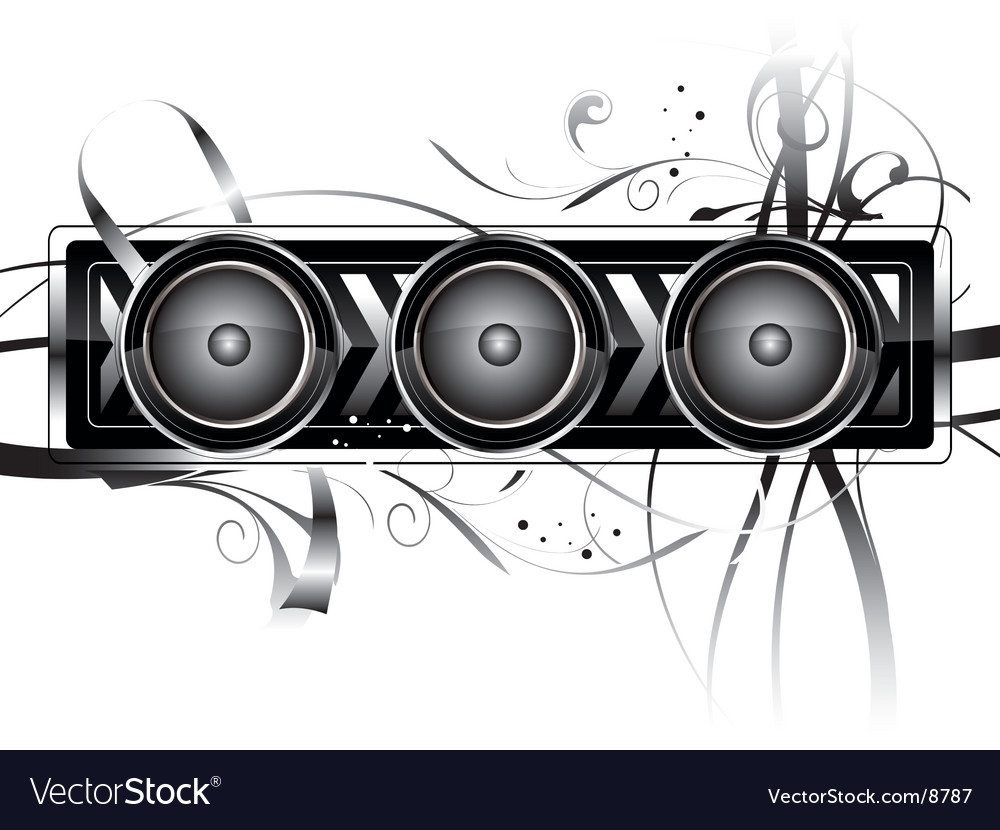 Speaker vector | Price: 3 Credit (USD $3)