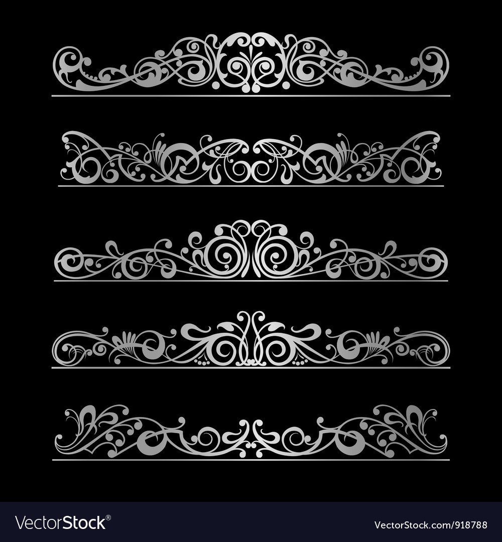 Elements page decoration vector | Price: 1 Credit (USD $1)