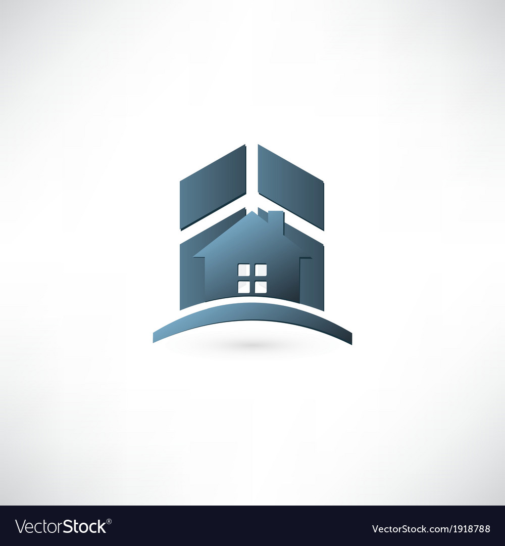 Modern real estate buildings design vector | Price: 1 Credit (USD $1)