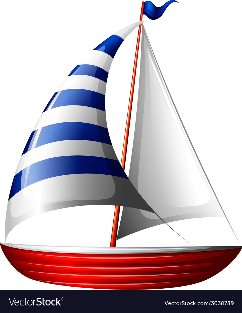 A boat vector | Price: 1 Credit (USD $1)