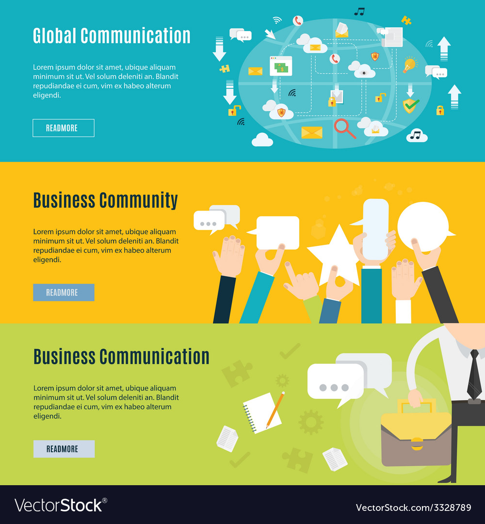 Element of business communication concept icon in vector | Price: 1 Credit (USD $1)
