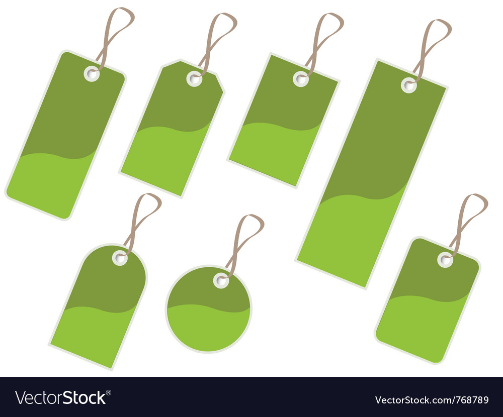 Tags vector | Price: 1 Credit (USD $1)