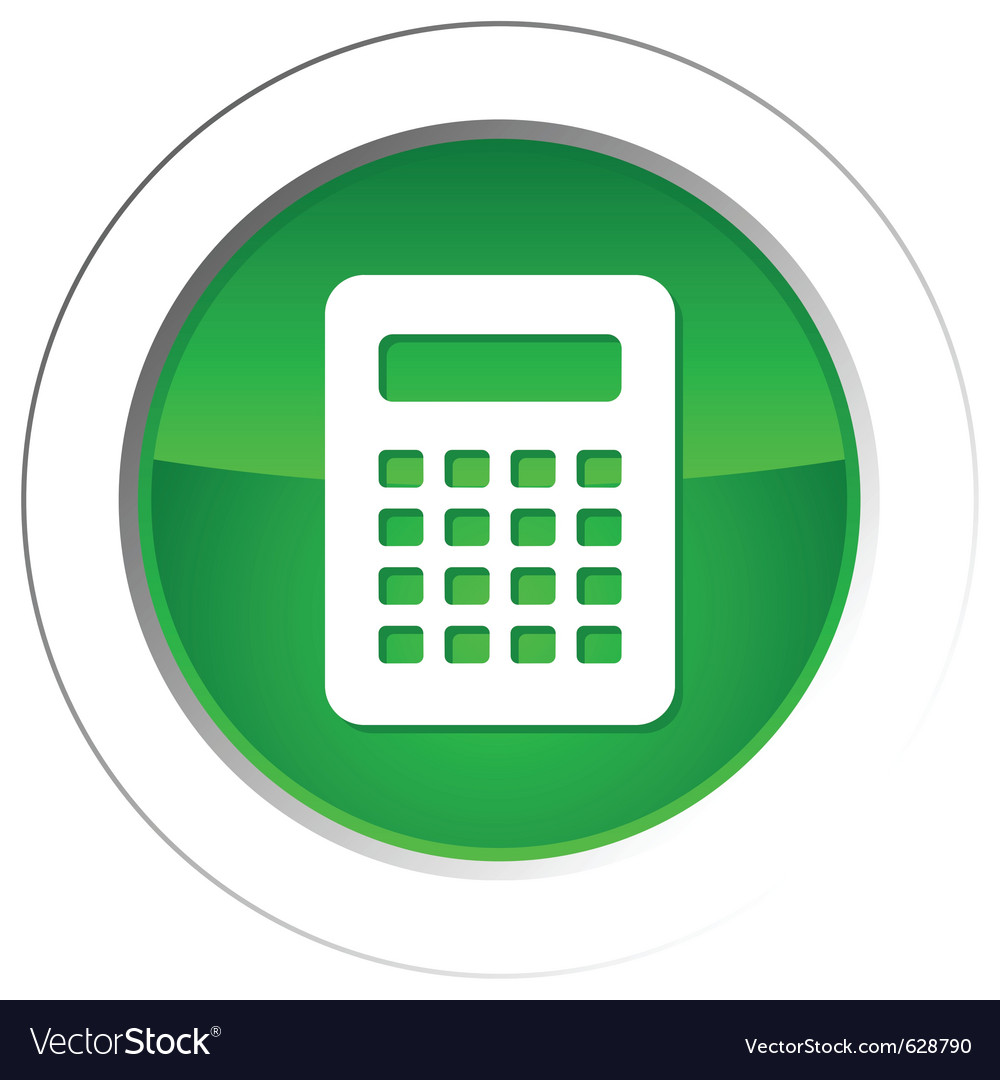 Calculator button vector | Price: 1 Credit (USD $1)
