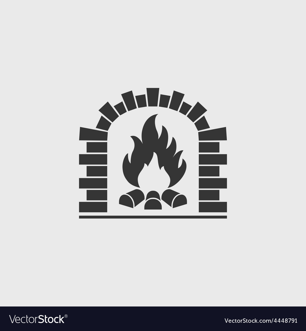 Brick oven vector | Price: 1 Credit (USD $1)