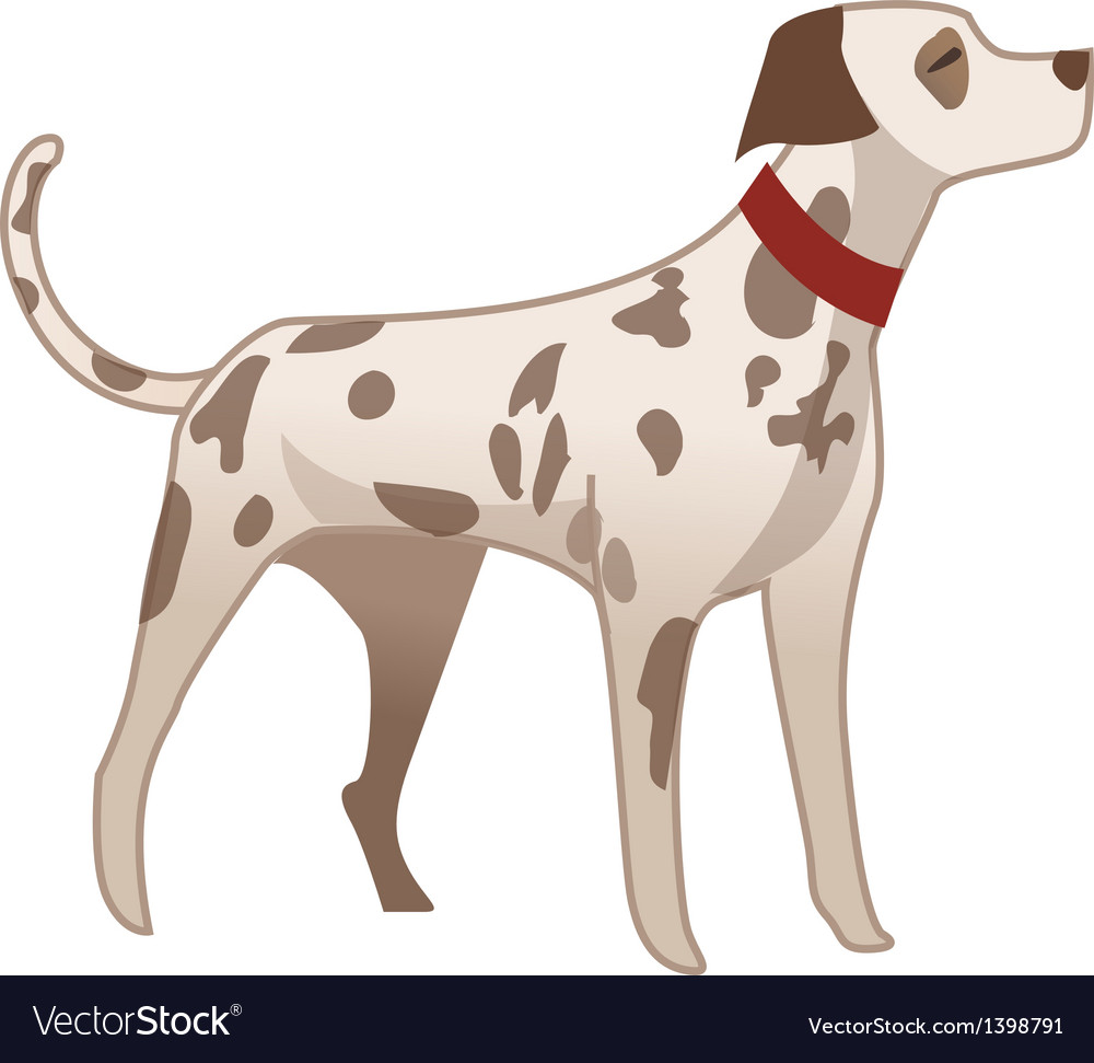 The dalmatian vector | Price: 1 Credit (USD $1)