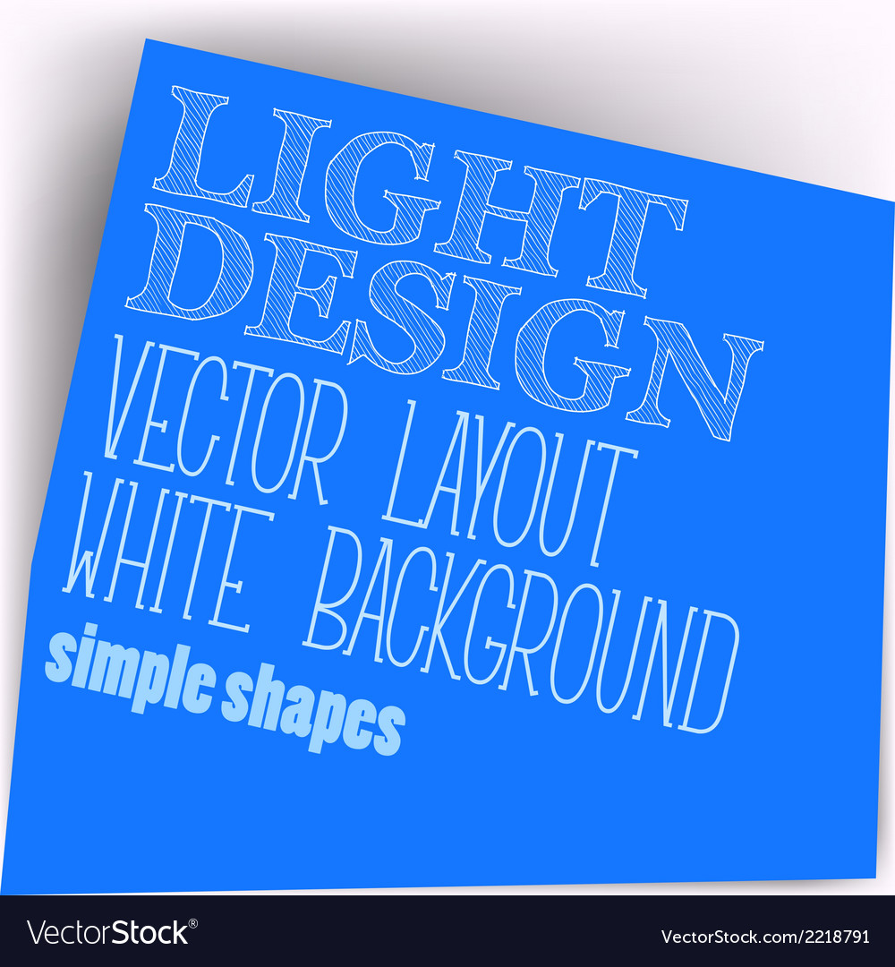 Simple layout vector | Price: 1 Credit (USD $1)