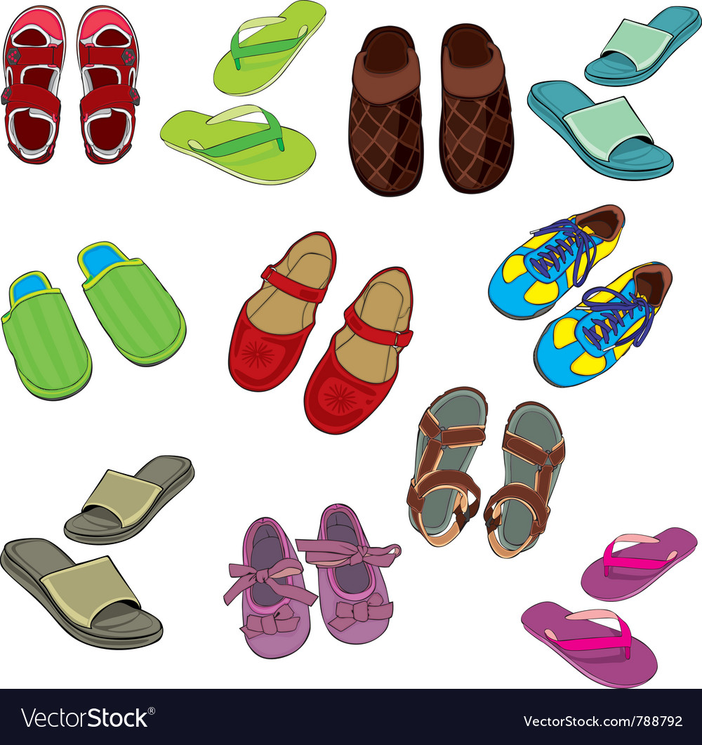 Isolated footwear vector | Price: 3 Credit (USD $3)
