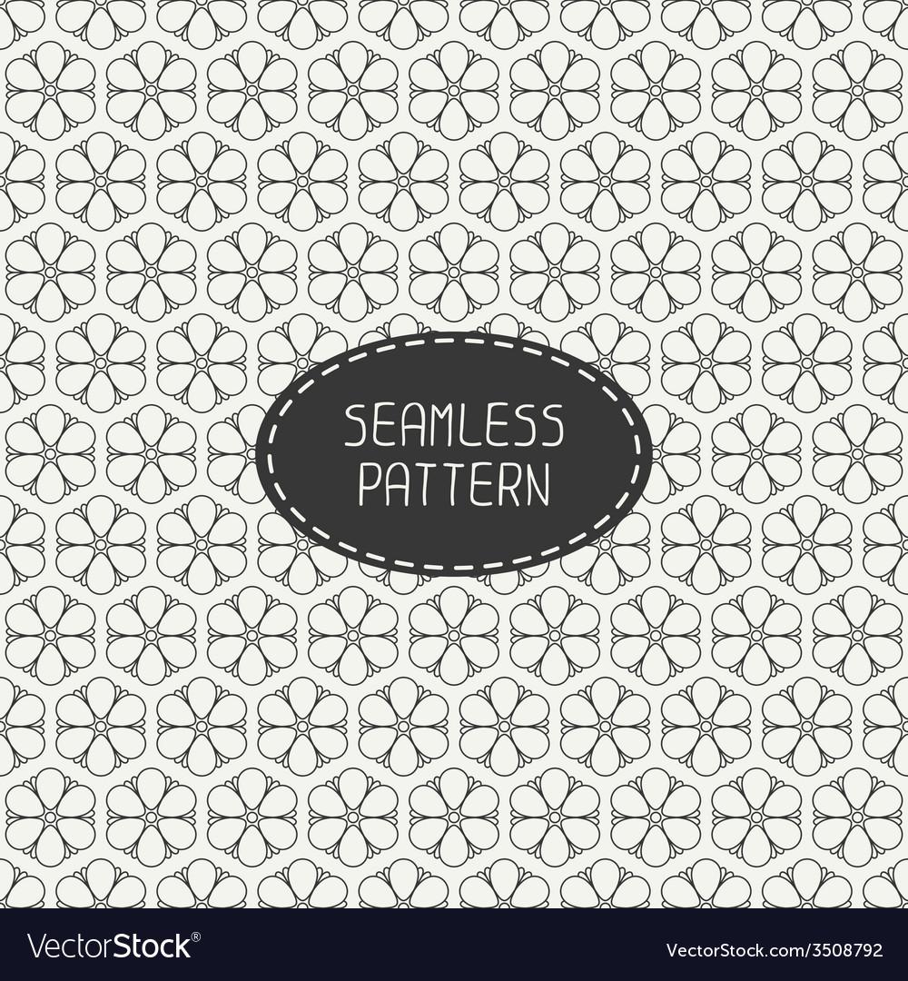 Seamless retro vintage geometric pattern vector | Price: 1 Credit (USD $1)