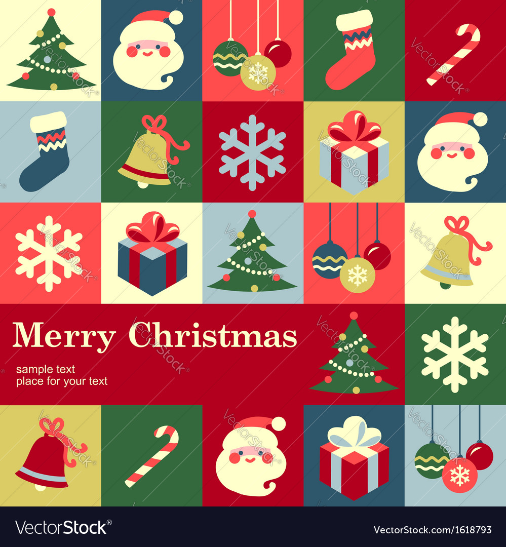 Concept christmas vector | Price: 1 Credit (USD $1)