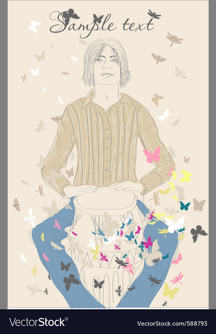 Fashion sketch vector | Price: 3 Credit (USD $3)