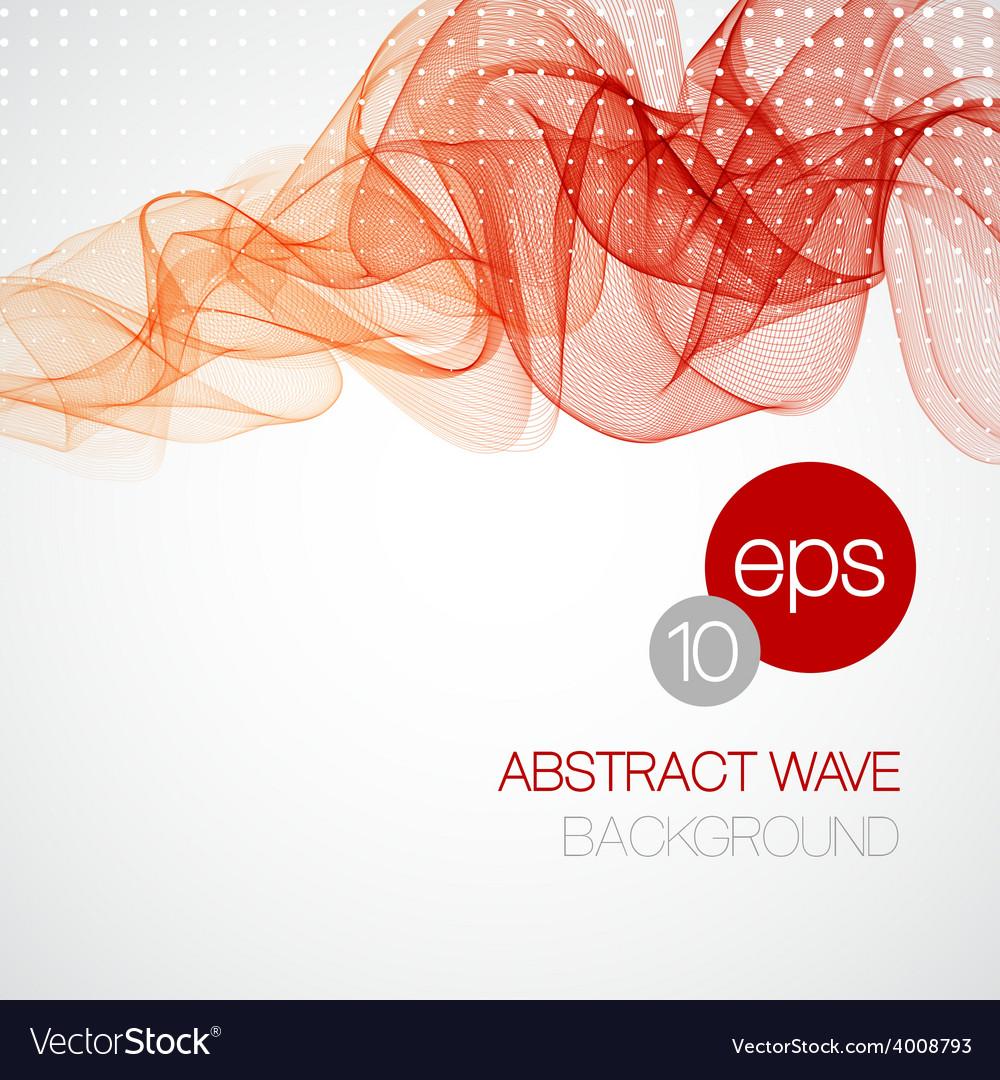 Smoke wave background vector | Price: 1 Credit (USD $1)