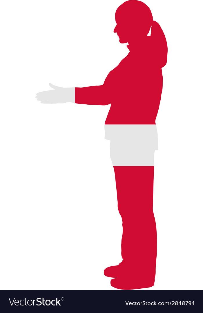 Danish handshake vector | Price: 1 Credit (USD $1)
