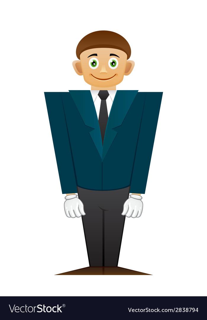 Good office man vector | Price: 1 Credit (USD $1)