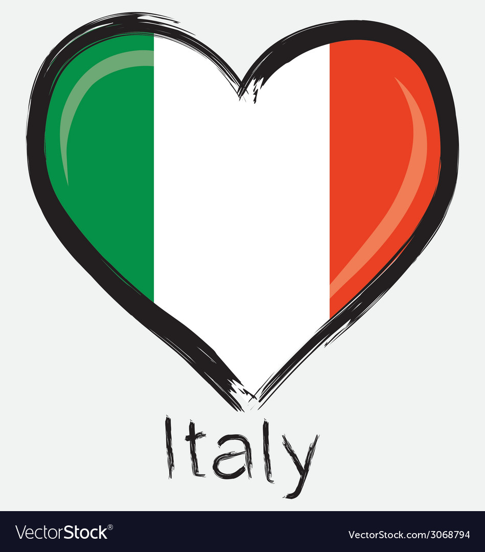 Love italy flag vector   Price: 1 Credit (USD $1)