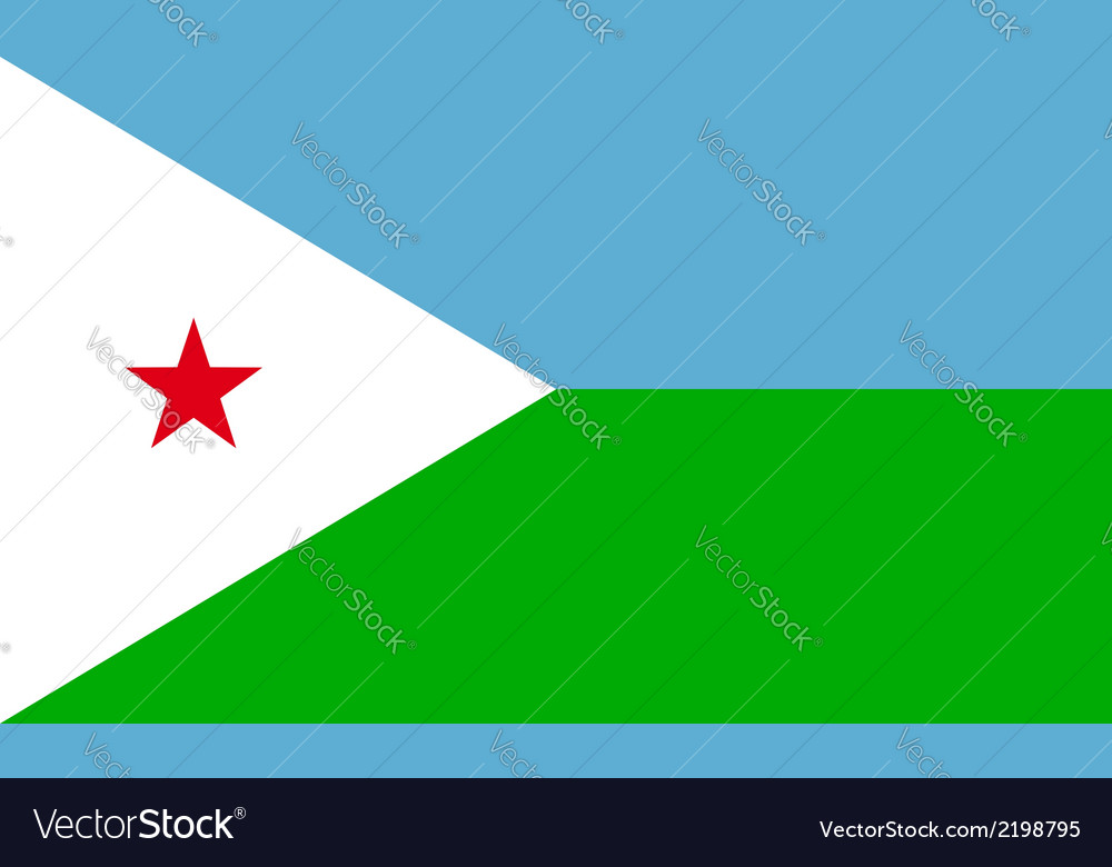 Djibouti vector | Price: 1 Credit (USD $1)