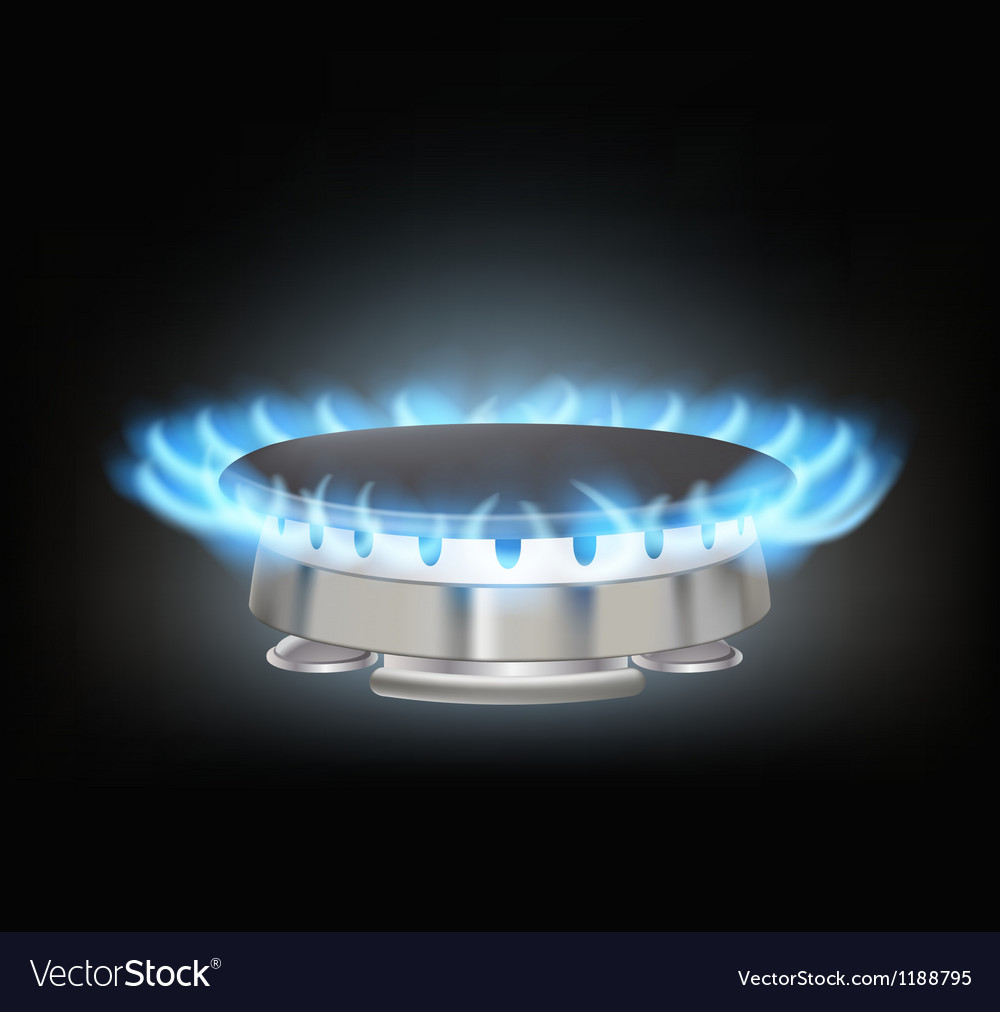 Gas burner vector | Price: 3 Credit (USD $3)