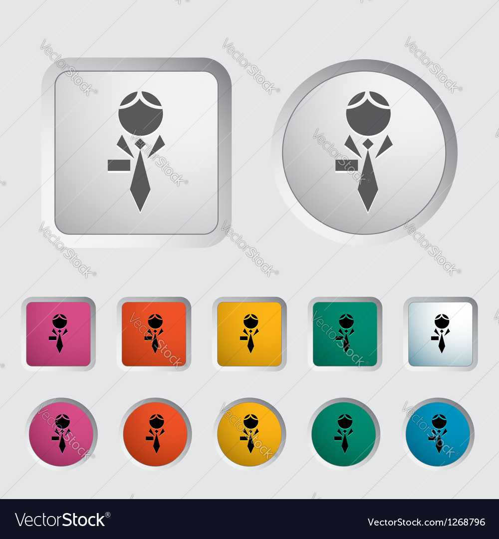 Human icon 2 vector | Price: 1 Credit (USD $1)