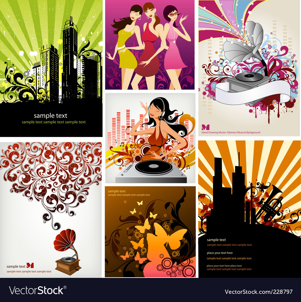 Dance dj vector | Price: 5 Credit (USD $5)