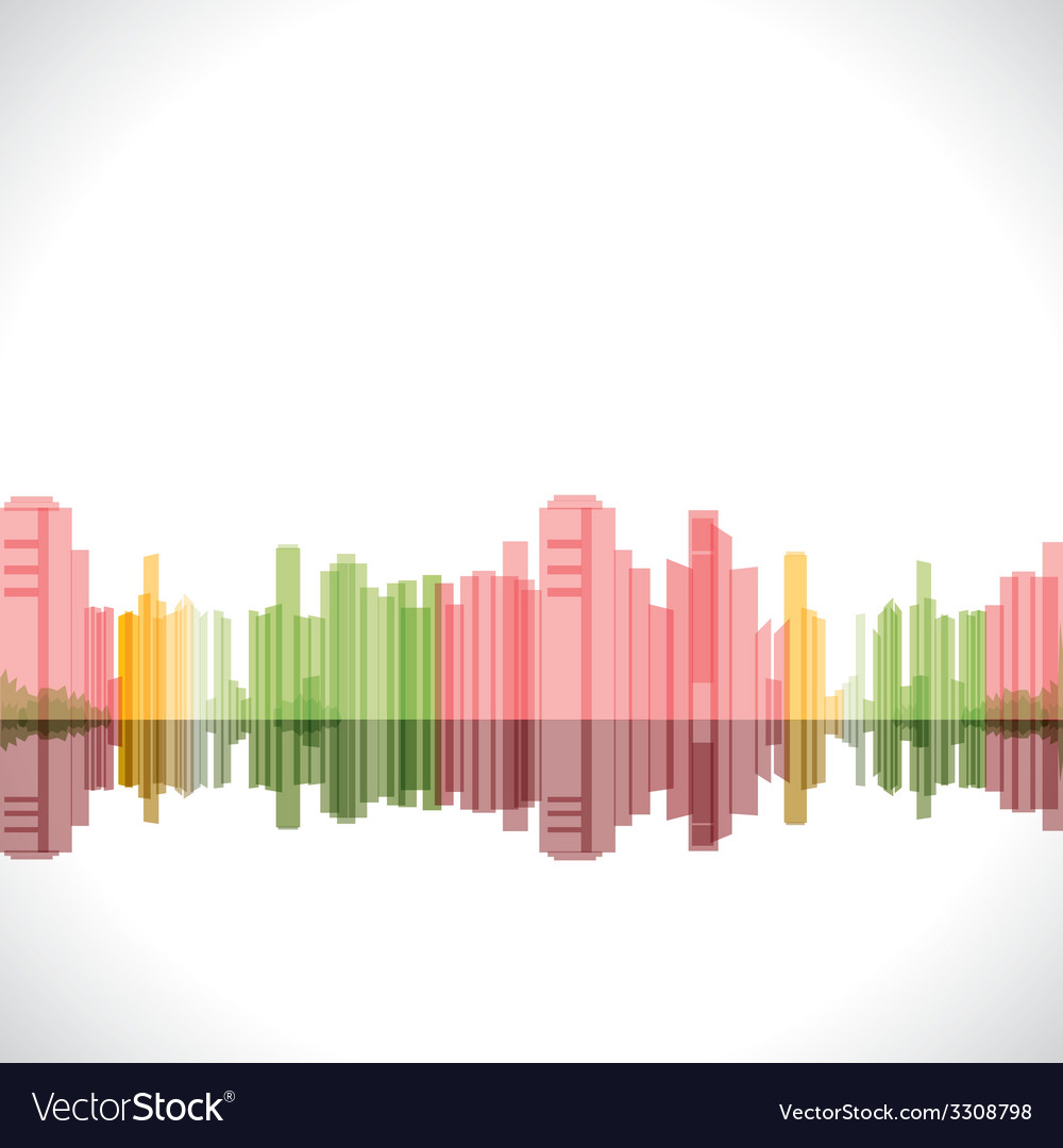 Abstract building background stock vector | Price: 1 Credit (USD $1)