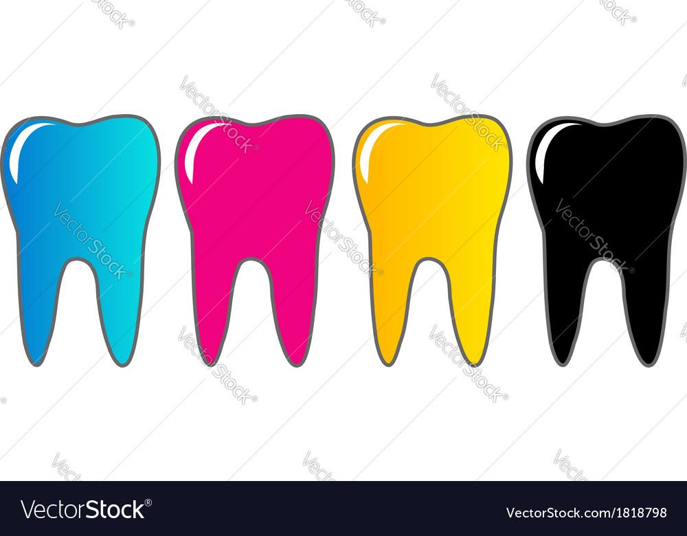 Logo for dental artist vector | Price: 1 Credit (USD $1)