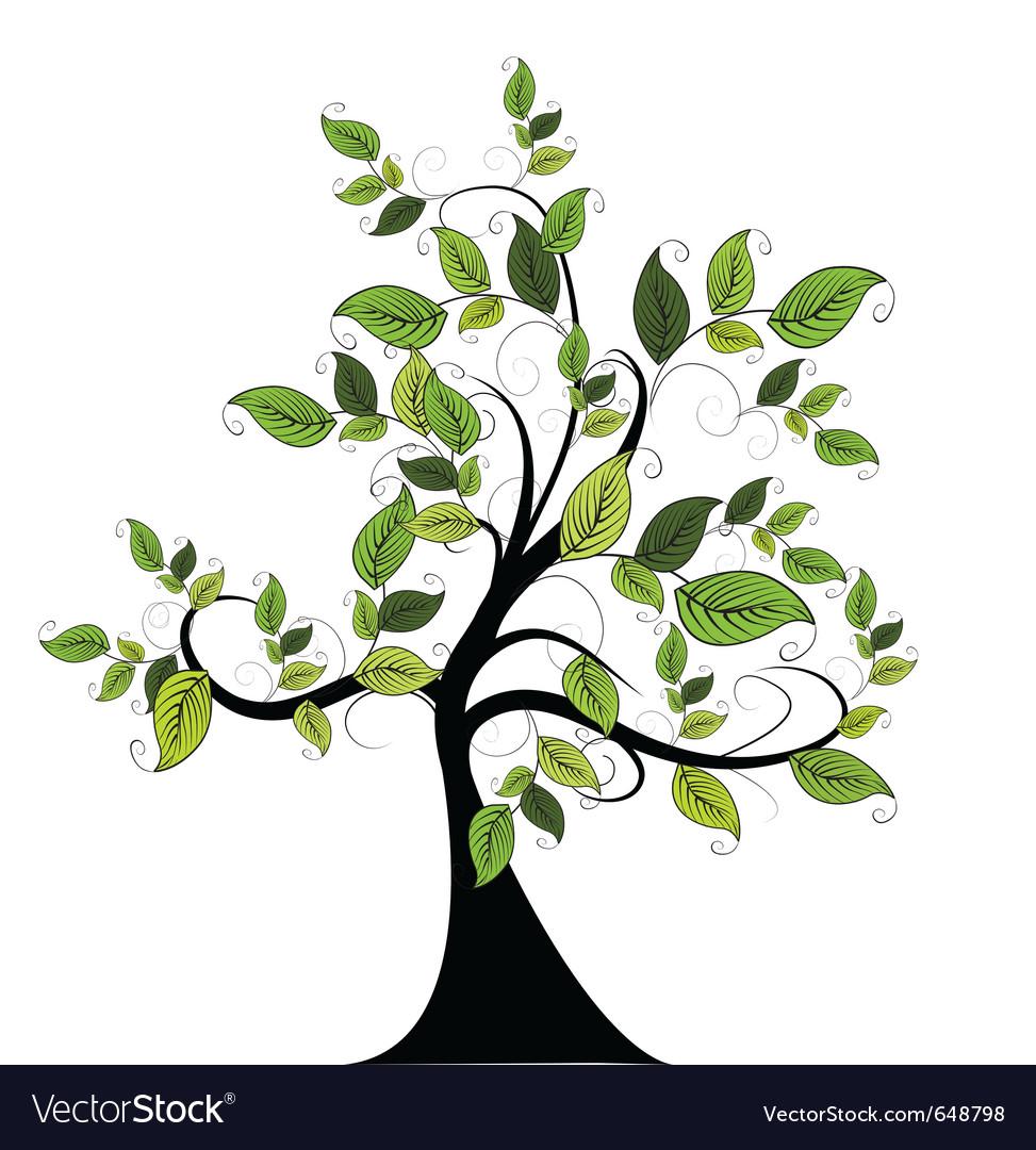 Nature tree vector | Price: 1 Credit (USD $1)