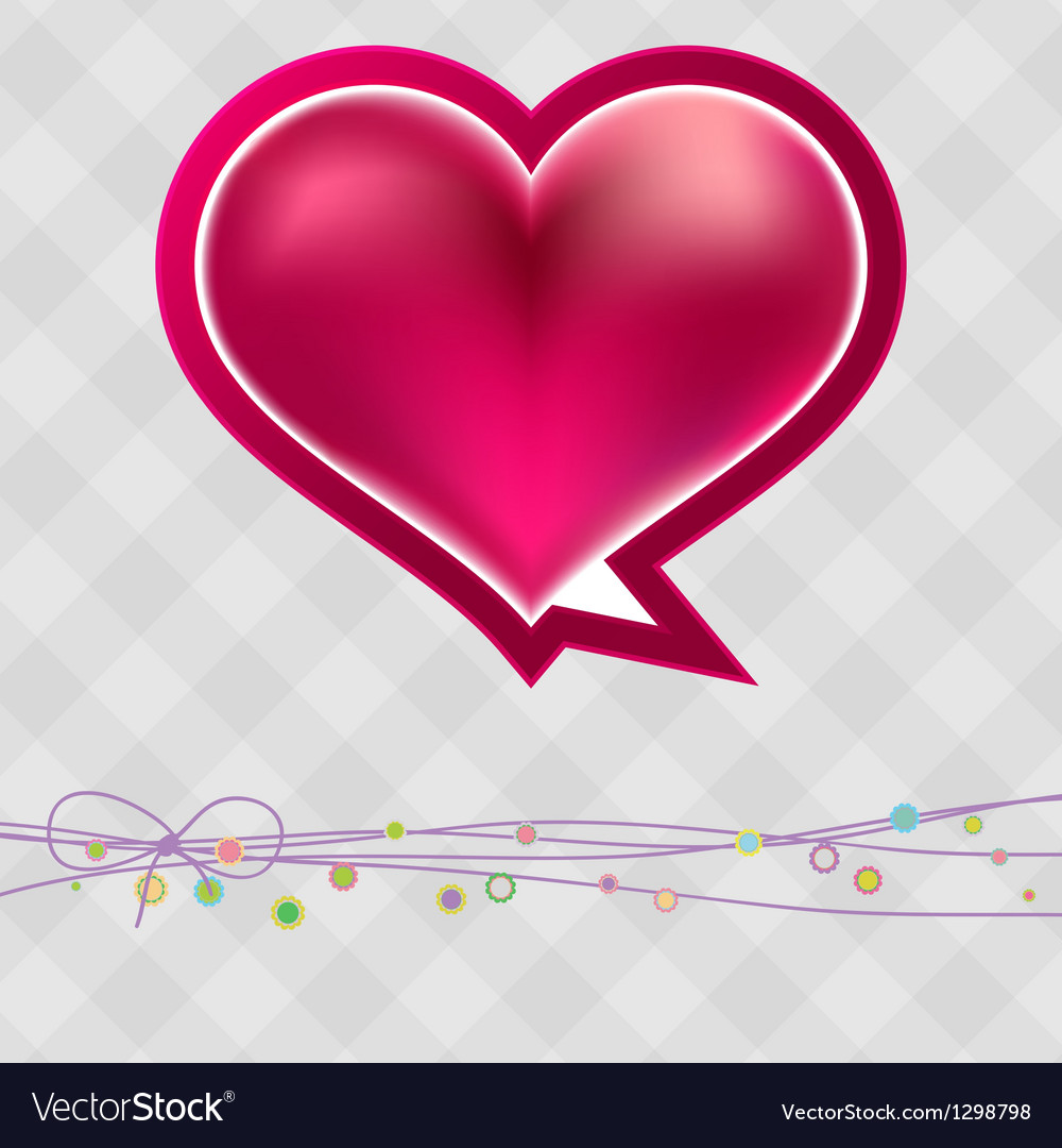 Valentines day in vintage style  eps8 vector | Price: 1 Credit (USD $1)