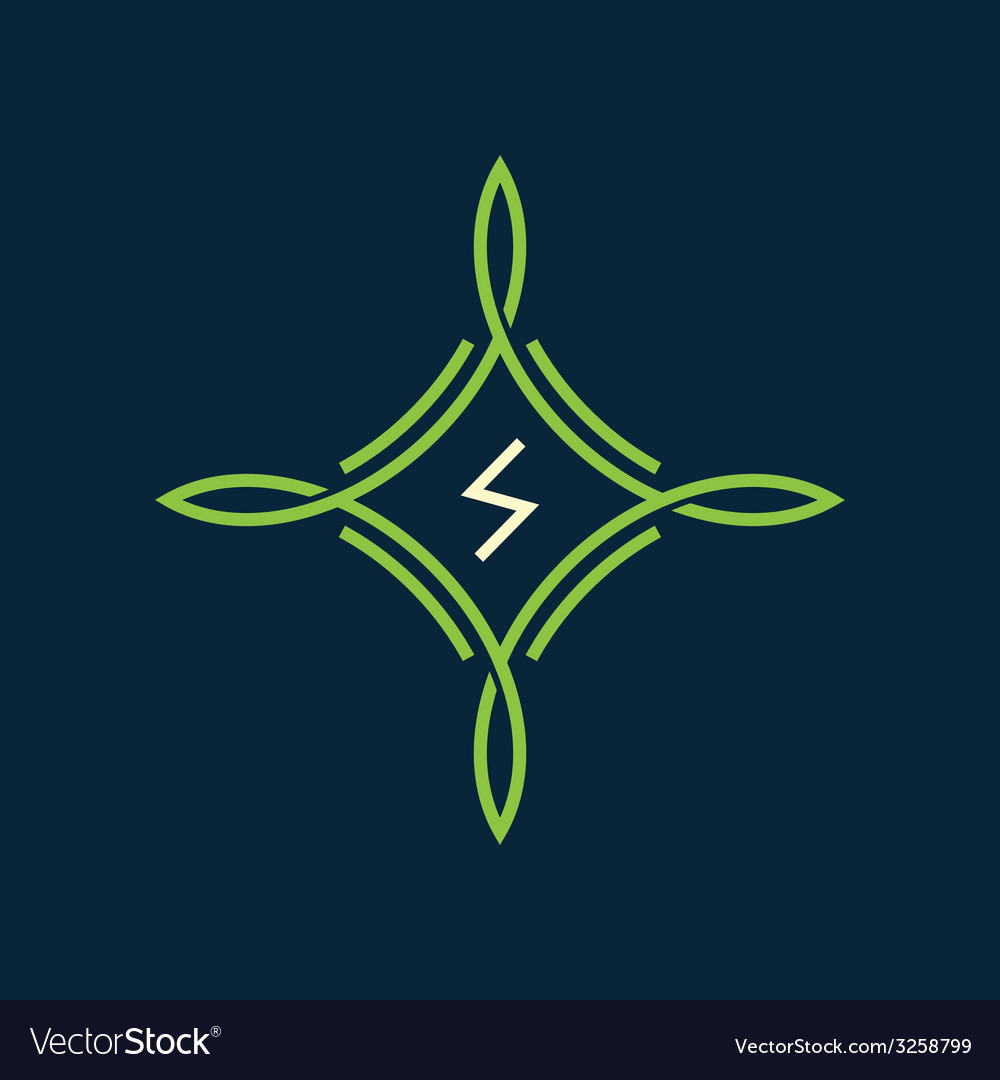Green symbol vector | Price: 1 Credit (USD $1)