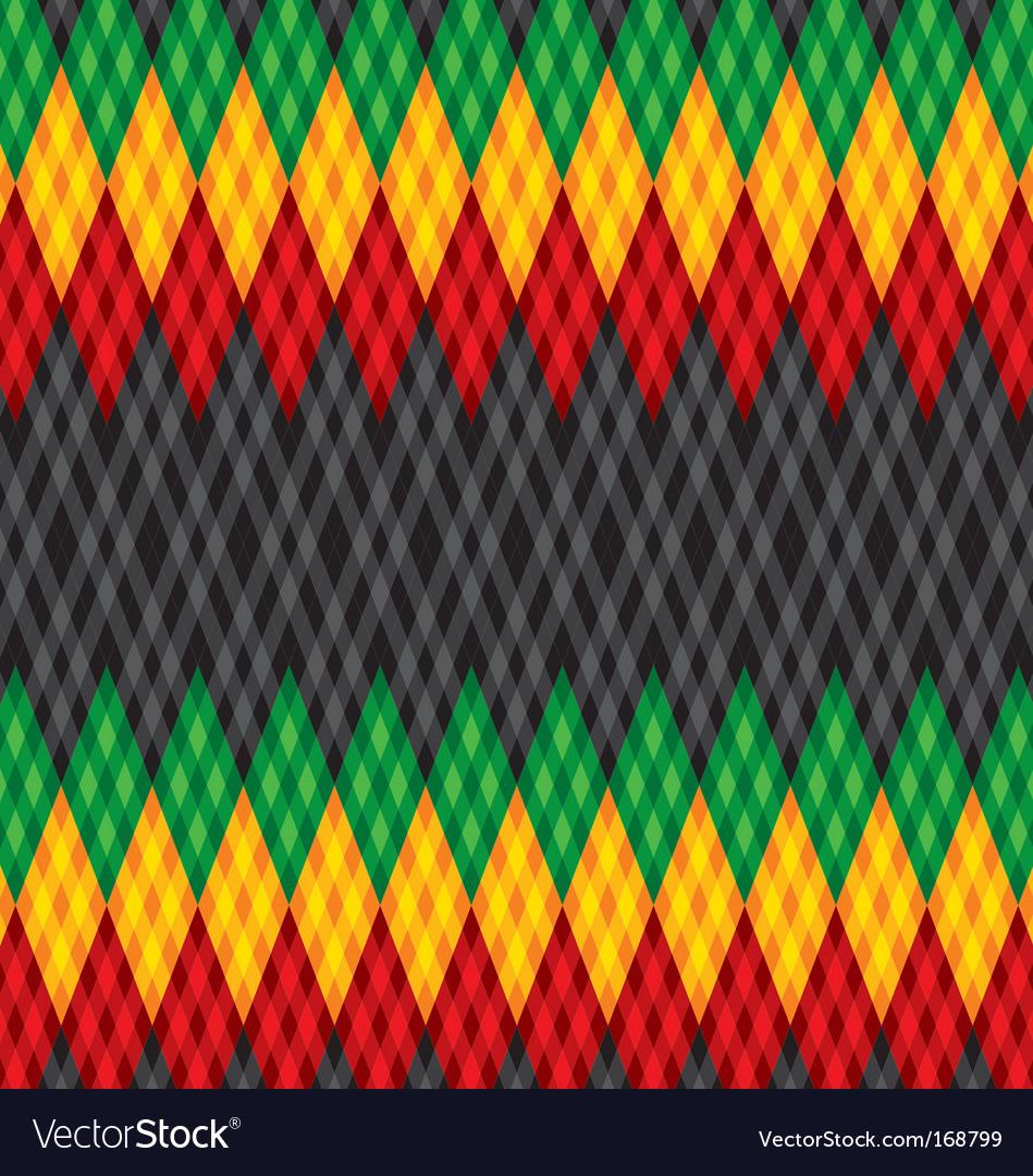 Pattern rastafarian vector | Price: 1 Credit (USD $1)