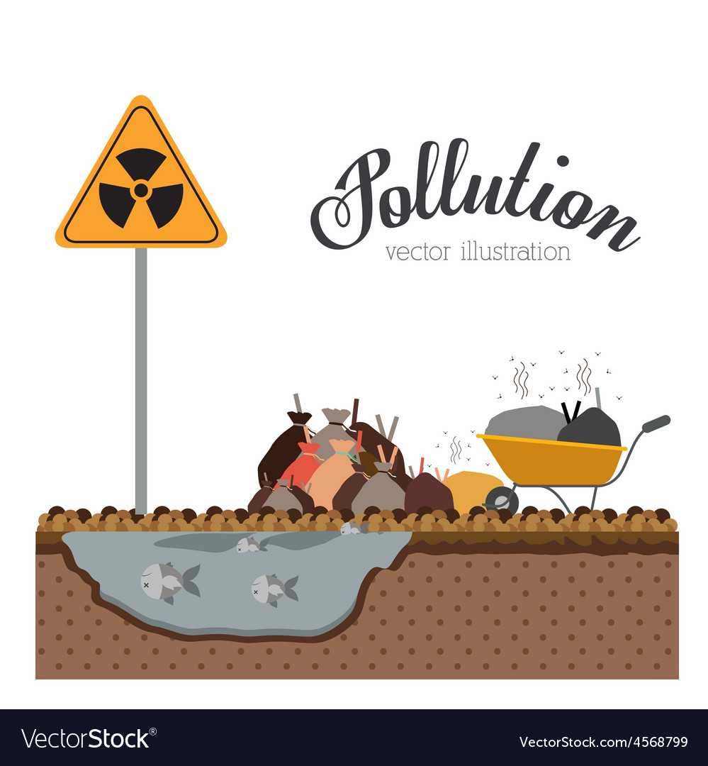 Pollution design vector | Price: 1 Credit (USD $1)