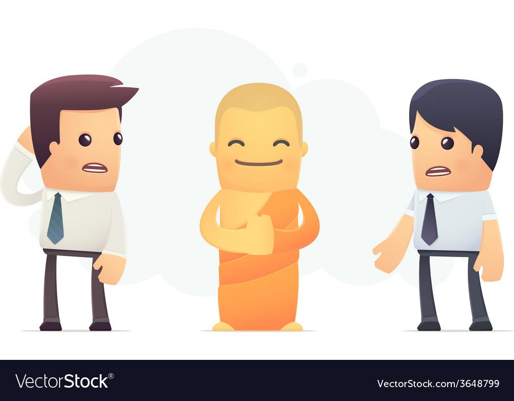 Secrets of tibetan monks vector | Price: 3 Credit (USD $3)