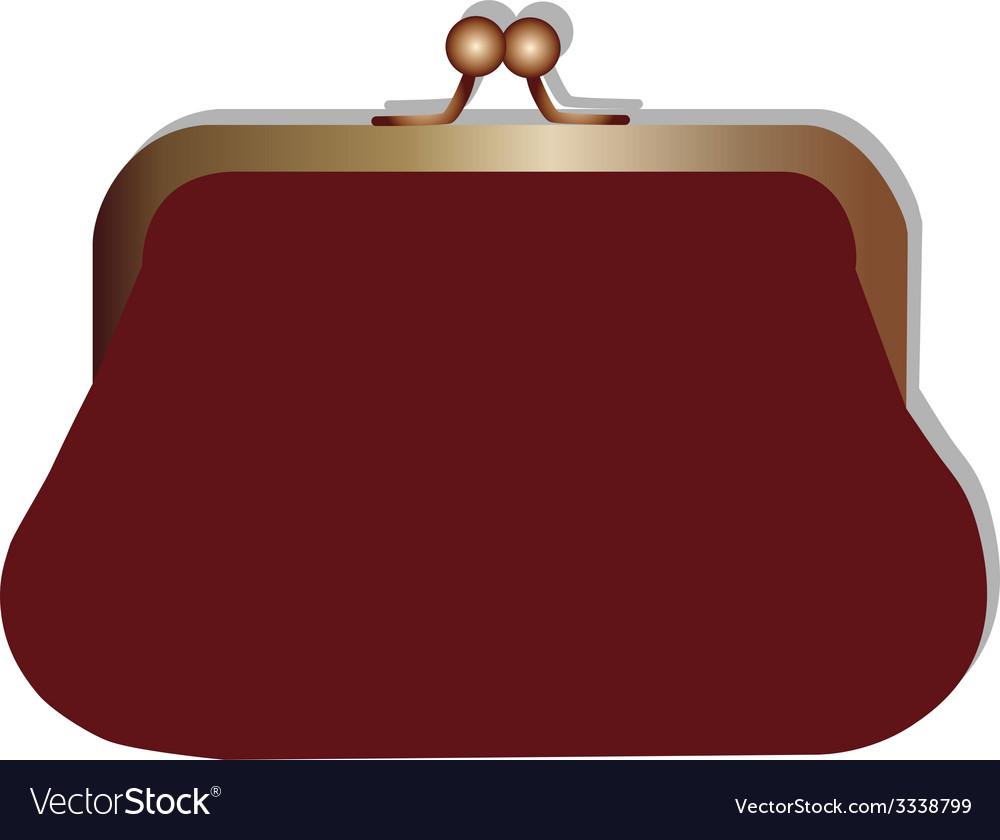 Woman purse vector | Price: 1 Credit (USD $1)