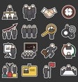 Human resource icon vector