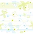 Cute bears children wallpaper vector
