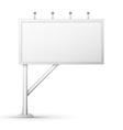 Blank billboard screen vector